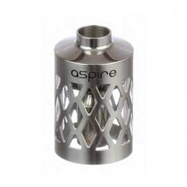 Aspire Nautilus Stainless Steel Tank with hollowed-out sleeve