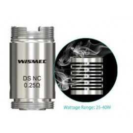 Wismec DS NC head - 0.25ohm - 5pc