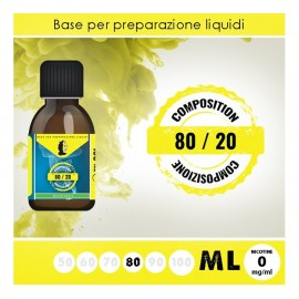 LOP Base Neutra 80/20 80ml - 0mg/ml