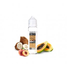 Charlie's Chalk Dust Pachamama Line Peach Papaya Coconut Cream Mix and Vape - 50ml