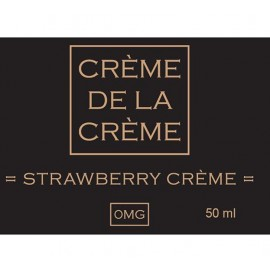 Crème De La Crème Strawberry Crème Mix and Vape - 50ml