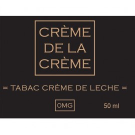Crème De La Crème Tabac Crème De Leche Mix and Vape - 50ml