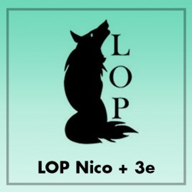 LOP Nico+ 3 e - 50mg/ml - 3ml