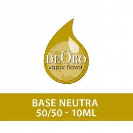 DeOro Neutral Base 50/50 - 20mg/ml -10ml