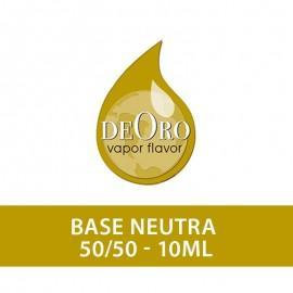 DeOro NicoBooster Base 50/50 - 20mg/ml -10ml