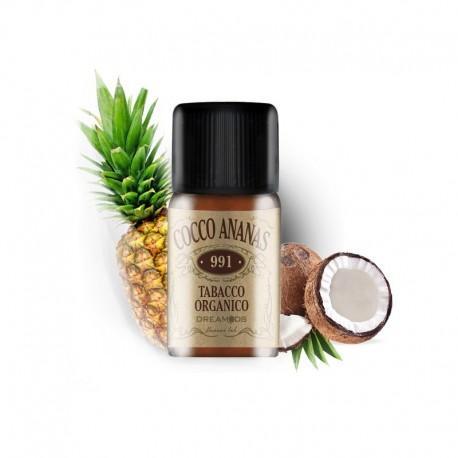 Dreamods Aroma Coco Ananas - Tabacco Organico - 10ml