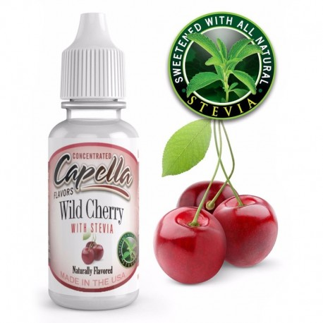Capella Flavor Wild Cherry with Stevia - 13ml