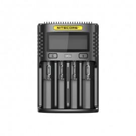 Nitecore caricabatteria UMS4 - 4 slot - nero
