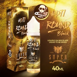 Super Flavor Round Black by D77 - Mix and Vape - 40ml