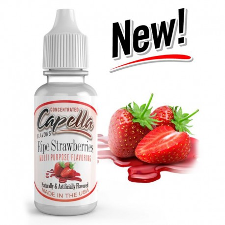 Capella Aroma Ripe Strawberries - 13ml