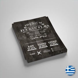 Fcukin' Flava Volantino Liquidi 15x21cm - 5pzz - Iingua greca