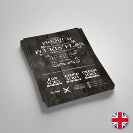 Letak Fcukin' Flava eTekočine 15x21cm - 1 kos - angleški jezik