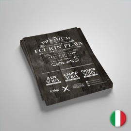 Fcukin' Flava Volantino Liquidi 15x21cm - 5pz - Lingua Italiana