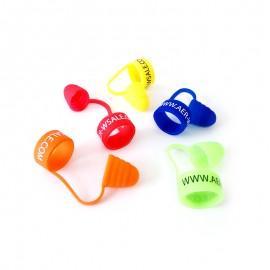 Zaščitni silikonski prstan Aer-wsale.com s pokrovčkom - 50 kosov