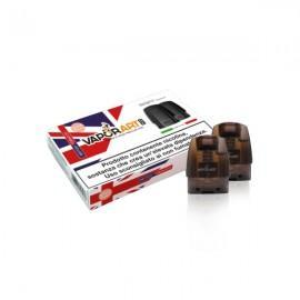 Vaporart British Tobacco - kartuša/pod za Minifit MAX - 1.5ml - 2 kosa