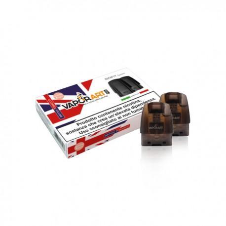 Vaporart British Tobacco - cartuccia/pod per Minifit MAX - 1.5ml - 2pz