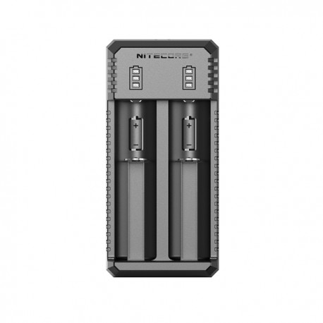 Nitecore charger UI2 - 2 slots - Black