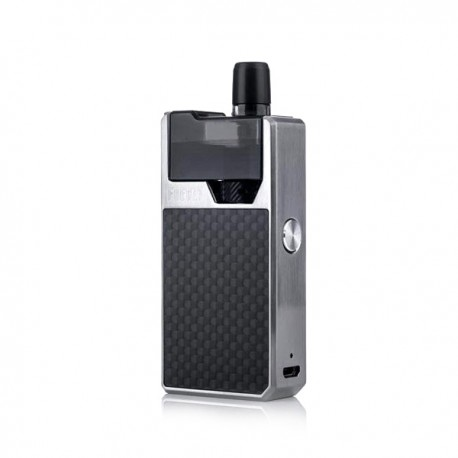 Geekvape Frenzy Pod Kit - Silver and Carbon Fiber