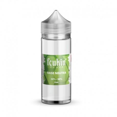 Fcukin' Flava Neutral Base 50/50 - 0mg/ml - 70ml