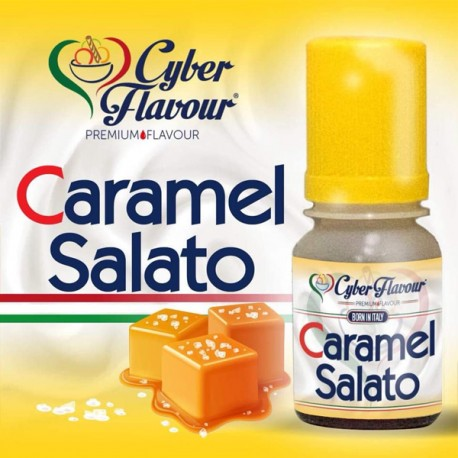 Cyber Flavour Flavor Caramel Salato - 10ml