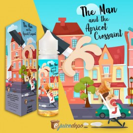 eJuice Depo The Man And The Apricot Croissant - Mix and Vape -