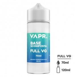 VAPR. Rastlinski Glicerin FULL VG - 70ml v 120ml