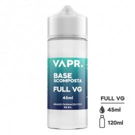 VAPR. Rastlinski Glicerin FULL VG - 45ml v 120ml