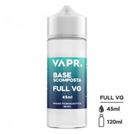 VAPR. Vegetable Glycerine FULL VG - 45ml in 120ml bottle