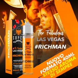 shortfill eliquid super flavor the fabulous las vegas richman 40ml new format