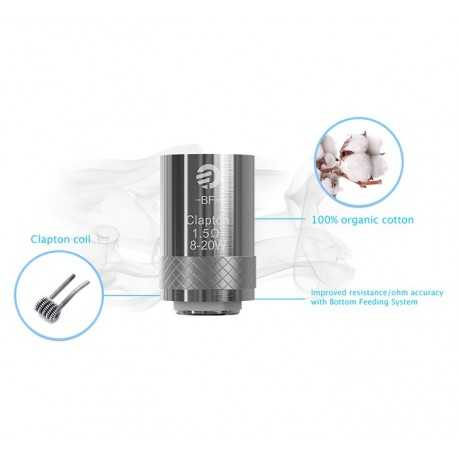 Joyetech BF Clapton atomizer head (1.5ohm) for Cubis – 5 pcs