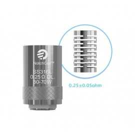 Joyetech NotchCoilTM DL - Ohm: 0.25 - 5pcs
