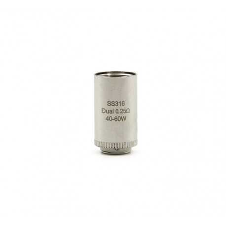 iSmoka Eleaf Lyche Dual head - 0.25ohm - 5pcs