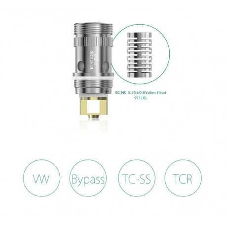 iSmoka Eleaf resistenza EC NC - 0.25ohm - 5pz