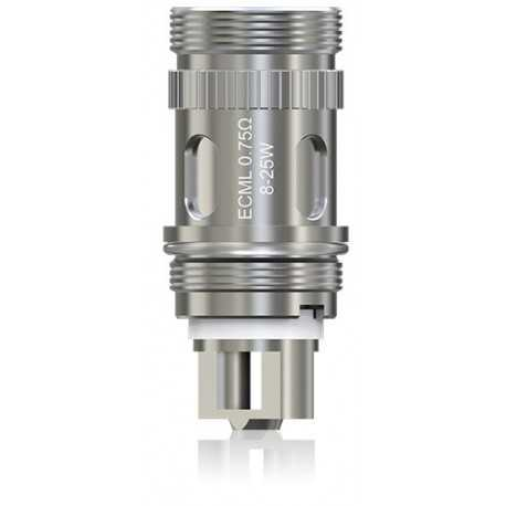 iSmoka Eleaf ECML head - 0.75ohm - 5pc