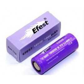 Efest IMR 18500 - P15A 1000mah Flat Top