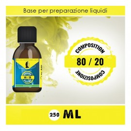 LOP Neutral Base 80/20 - 0mg/ml - 250ml