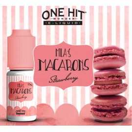 Mila's Macarons Strawberry 10ml