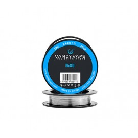 Vandyvape Pure Nickel Ni80 Wire 26AWG - 9m