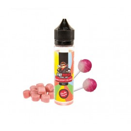 Fat Ninja Bubblegum Lollipop Aroma Mix and Vape - 50ml - IT
