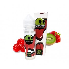 Air Factory Strawberry Kiwi Mix and Vape - 50ml