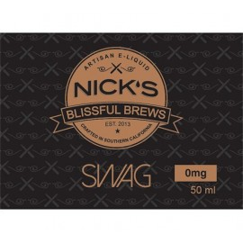 Nick's Blissful Brews Swag Mix and Vape - 50ml