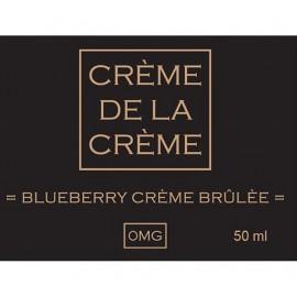 Crème De La Crème Blueberry Crème Brulée Mix and Vape - 50ml
