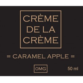Crème De La Crème Caramel Apple Mix and Vape - 50ml