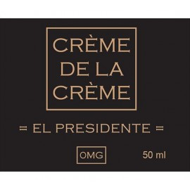 Crème De La Crème El Presidente Mix and Vape - 50ml
