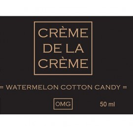 Crème De La Crème Watermelon Cotton Candy Mix and Vape - 50ml