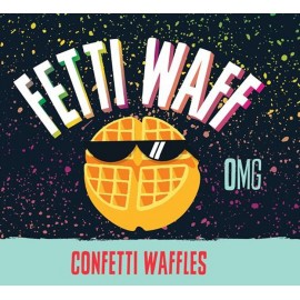 Fetti Waff Confetti Waffles mix and Vape - 50ml