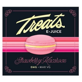 Treats eJuice Strawberry Macaron Mix and Vape - 50ml