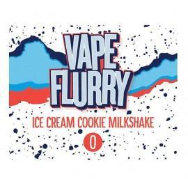 Vape Flurry Ice Cream Cookie Milkshake mix and Vape - 50ml