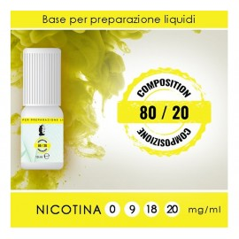 LOP NicoBooster Base 80/20 - 10ml
