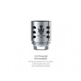 Smok Q4 head for TFV12 Prince - 0.4ohm - 3pcs
